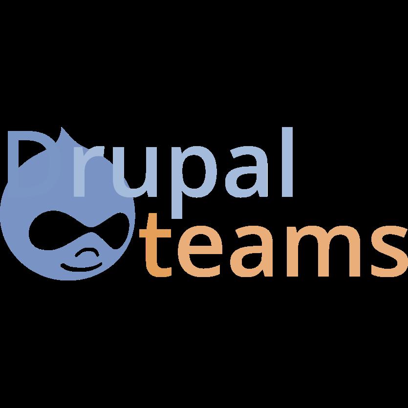 Drupal Teams Logo
