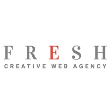 FRESH creative web agency Logo