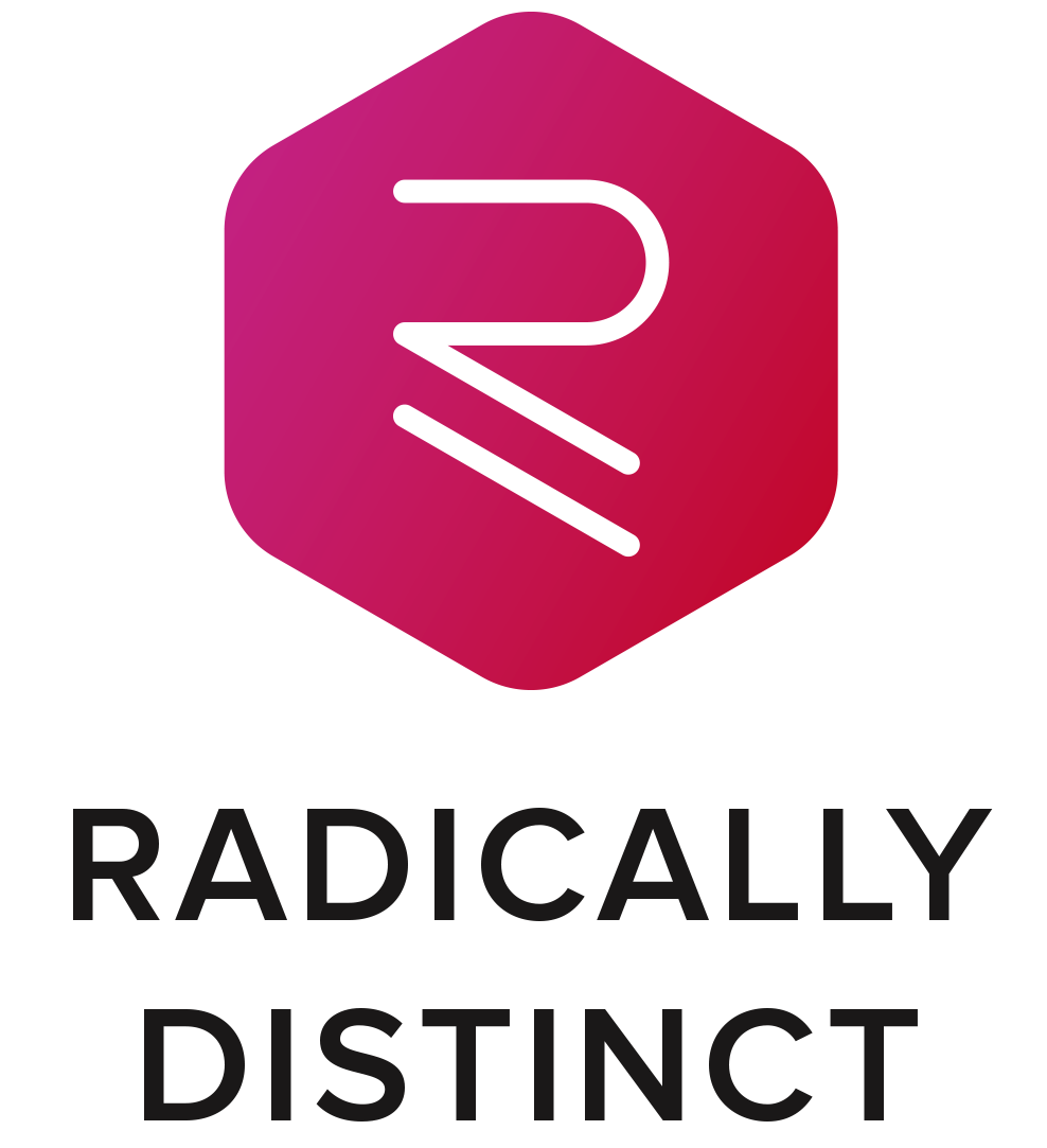 Radically Distinct Logo