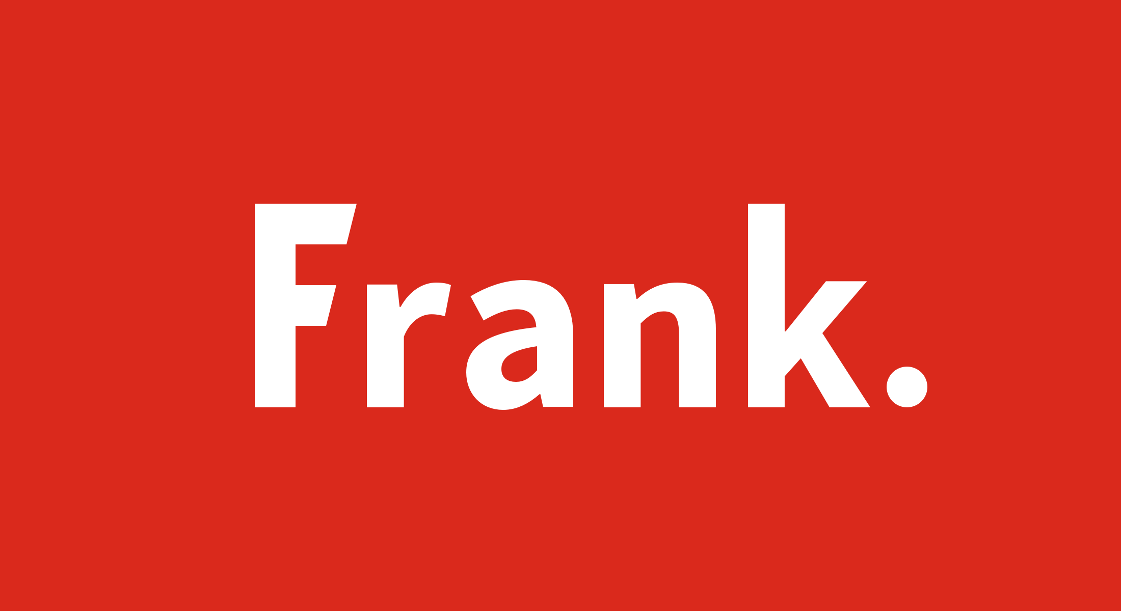 Frank Software Logo