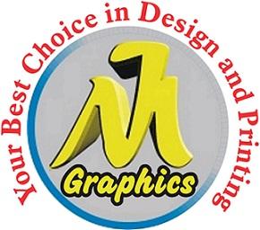 M j Graphics Logo