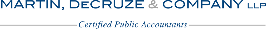 Martin, DeCruze & Company Logo