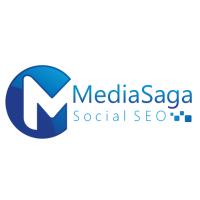 Media Saga Social SEO Logo
