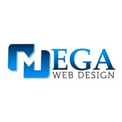 Mega Web Design Logo
