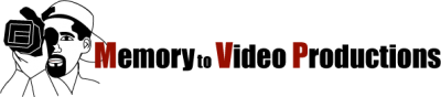 Memory to Video Productions Logo