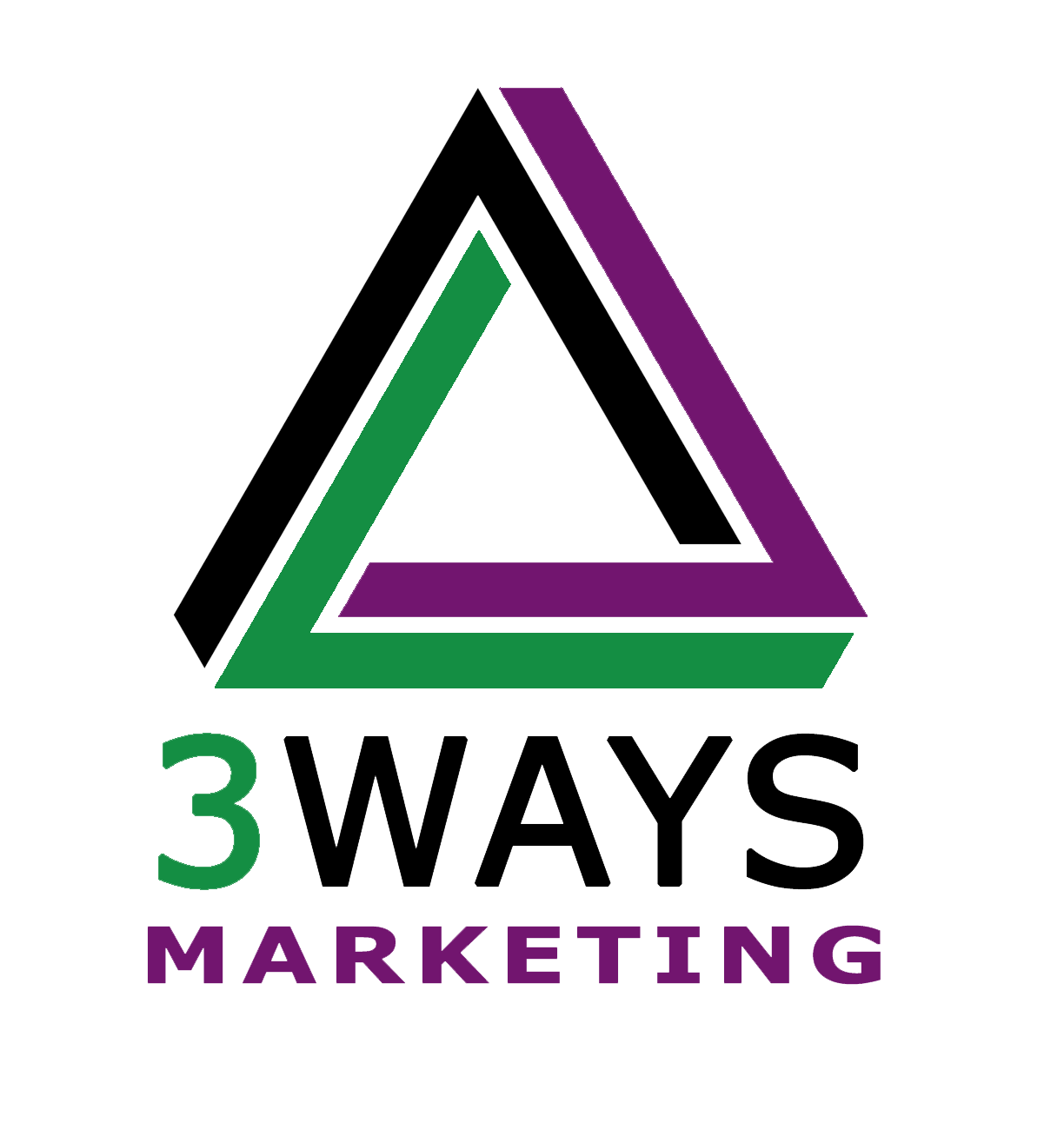 3 Ways Marketing Logo