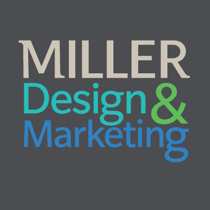 MILLER Design & Marketing Logo