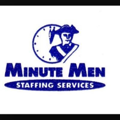 Minute Men Staffing Logo
