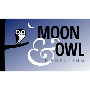 Moon and Owl Marketing Logo