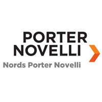 Nords Porter Novelli + NECom Logo