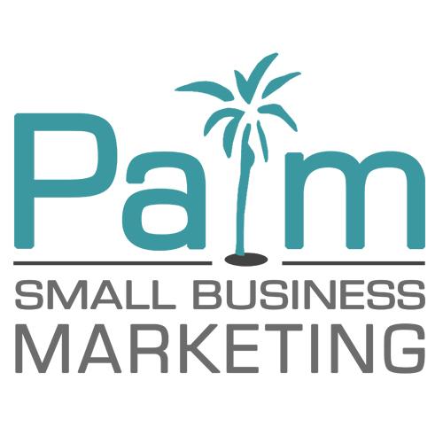 Palm Small Business Marketing Logo