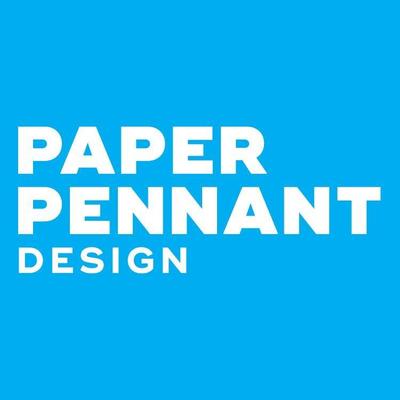 Paper Pennant Design Logo