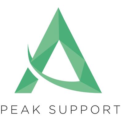 Peak Support Logo