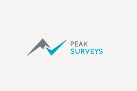 Peak Surveys Logo