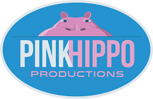 Pink Hippo Productions Logo