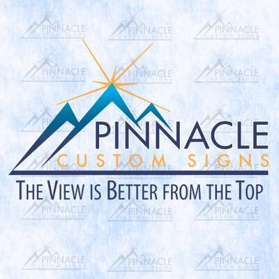Pinnacle Custom Signs Logo