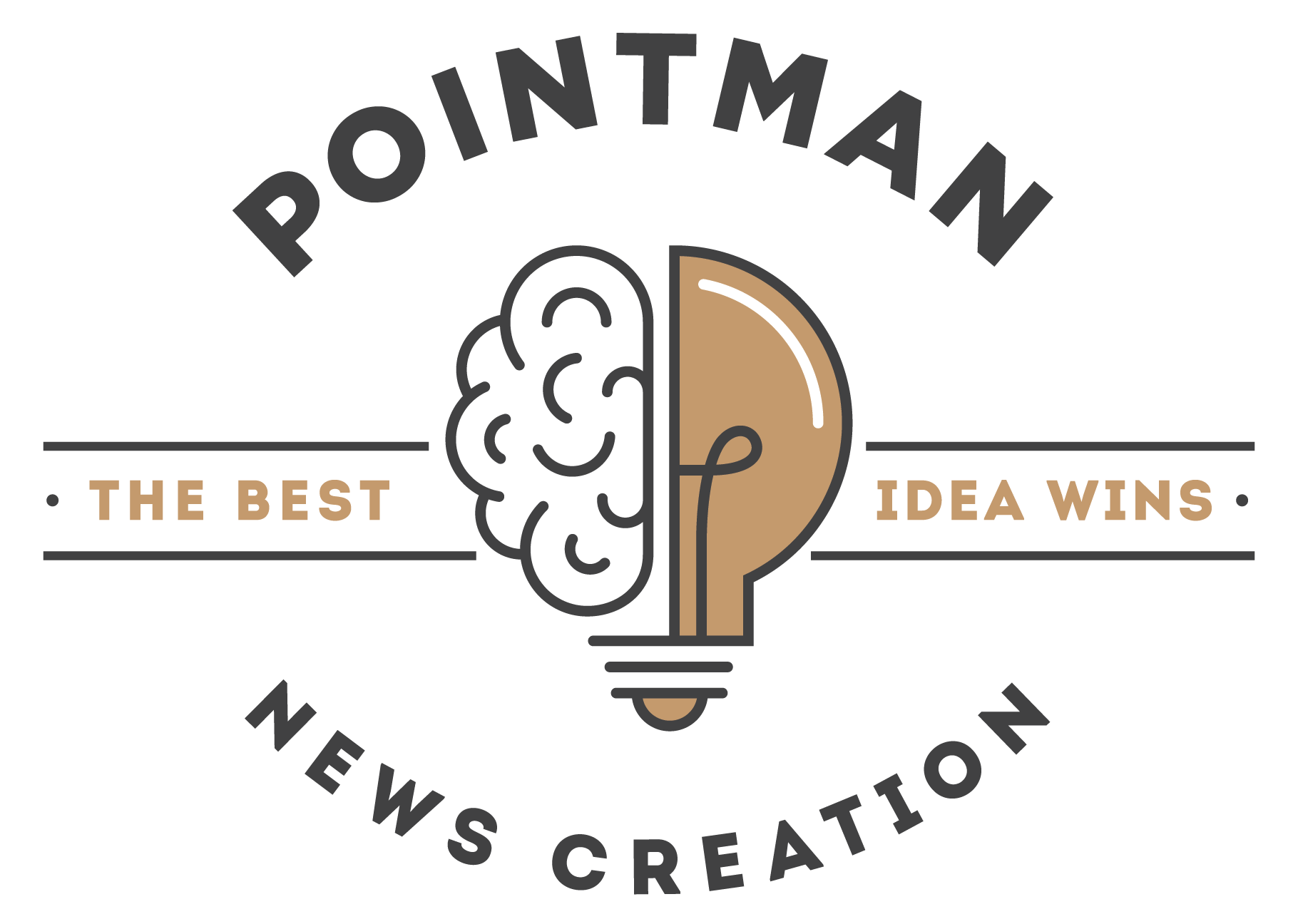 Pointman News Creation Logo