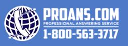 Professional Answering Service Logo