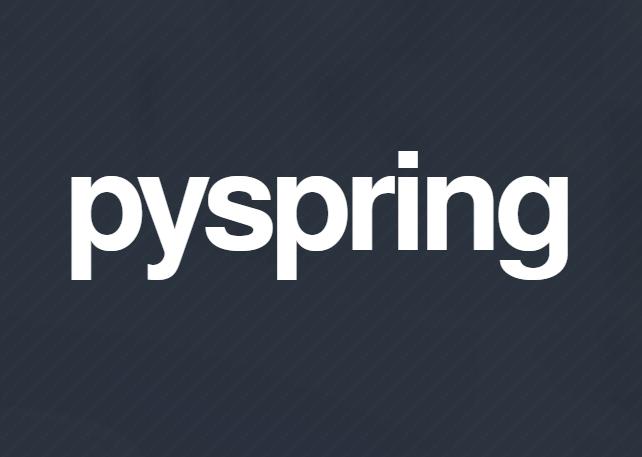 Pyspring Logo