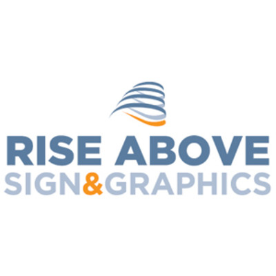 Rise Above Sign & Graphics Logo