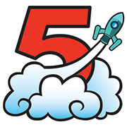 Rocket 5 Studios Inc. Logo