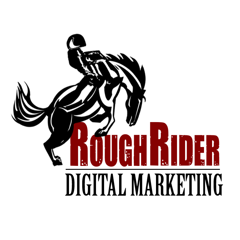 RoughRider Digital Marketing Logo