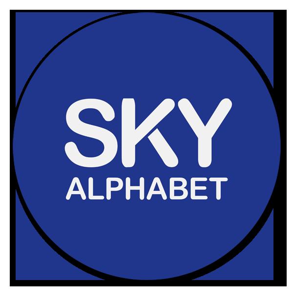 Sky Alphabet Social Media Inc. Logo