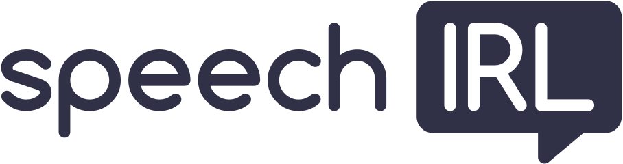 speech IRL Logo