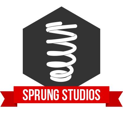 Sprung Studios - UX/UI Design Logo