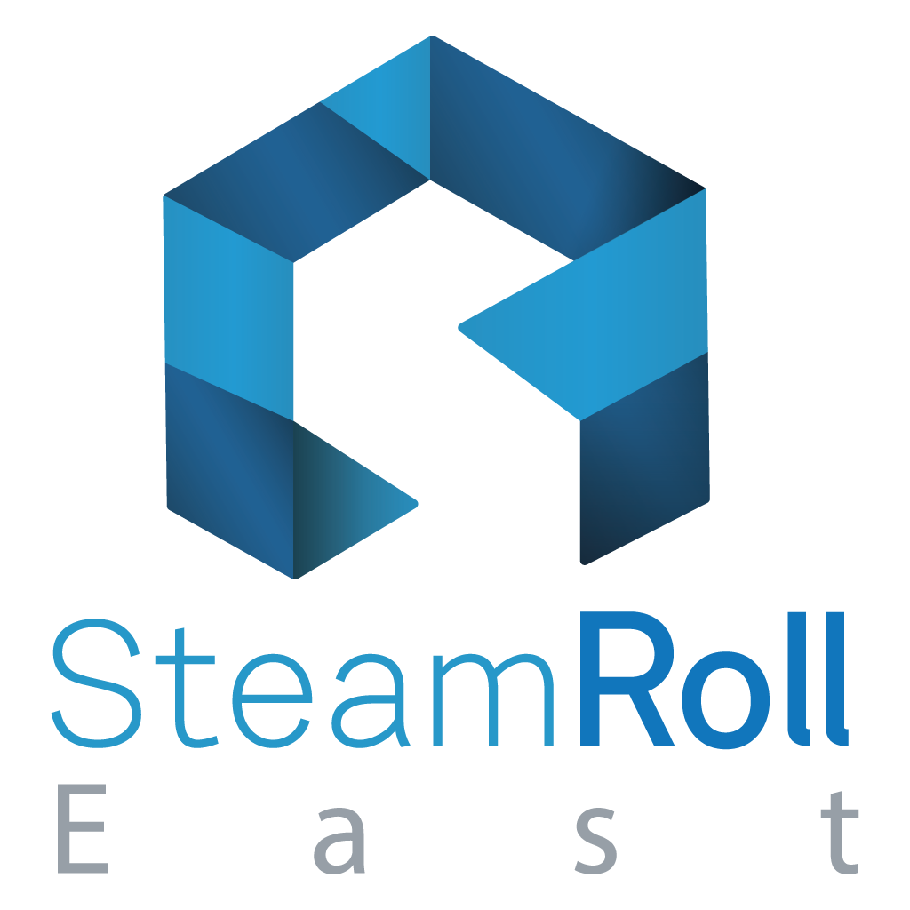 SteamRoll East Logo