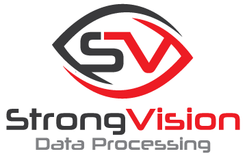 Strong Vision Data Processing Logo