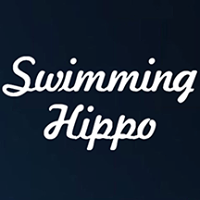 Swimming Hippo