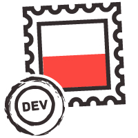 From Poland with Dev Logo