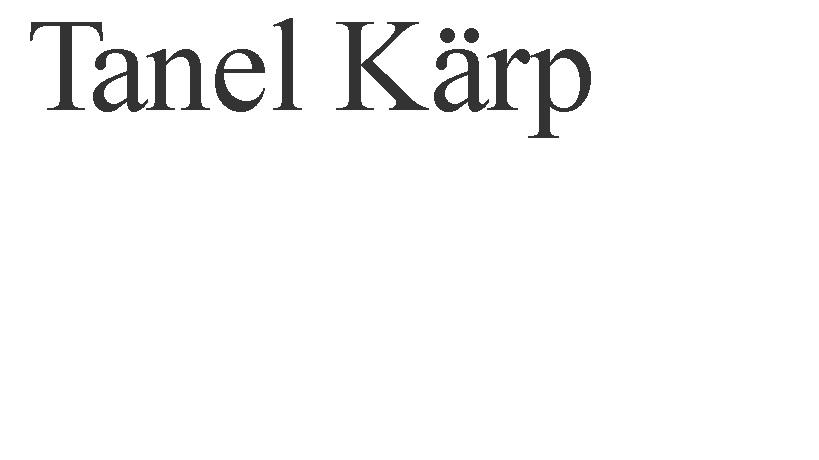 Tanel Karp