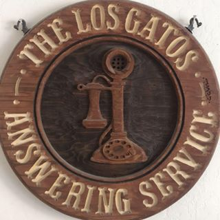 The Los Gatos Telephone Answering Services Logo