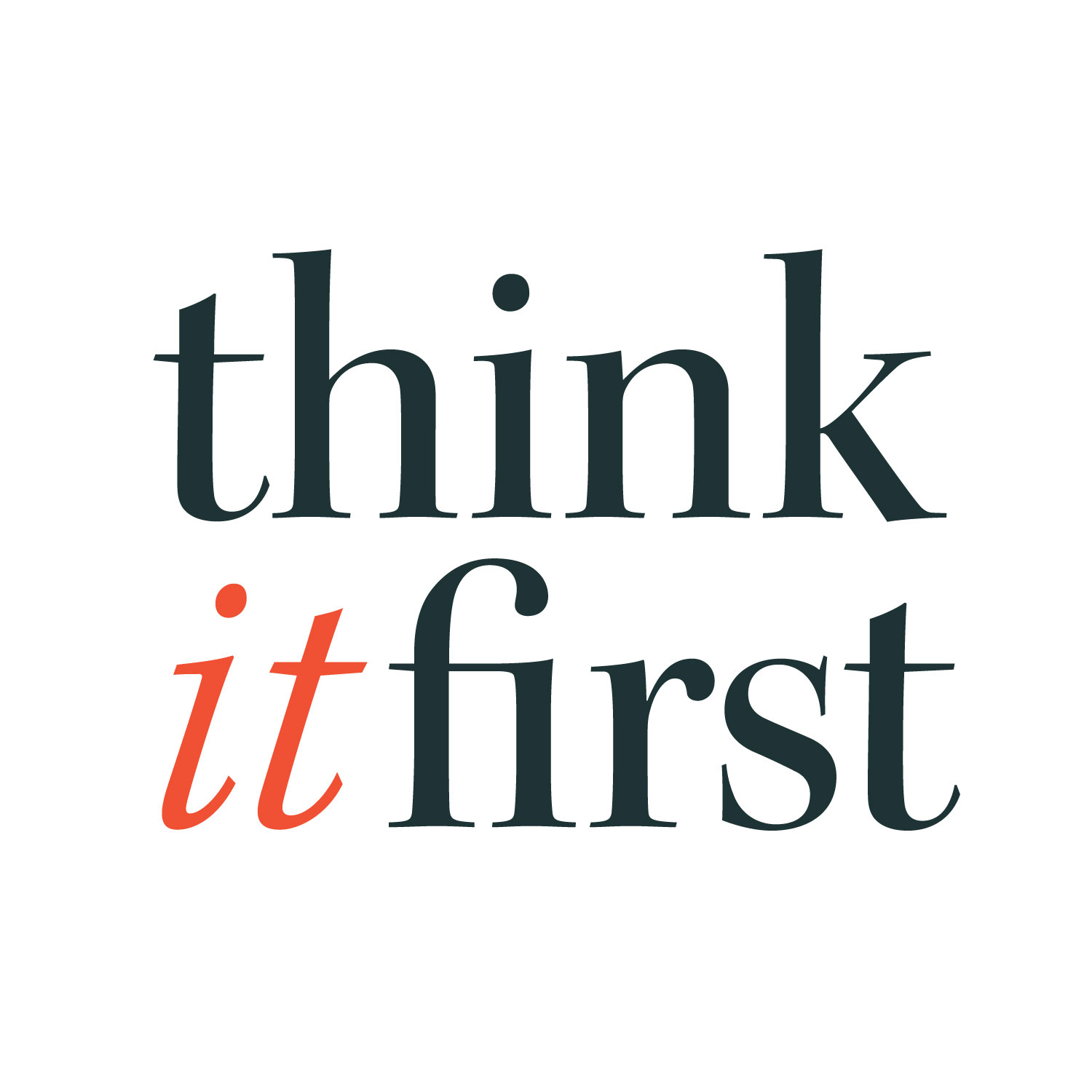 Think it First Logo