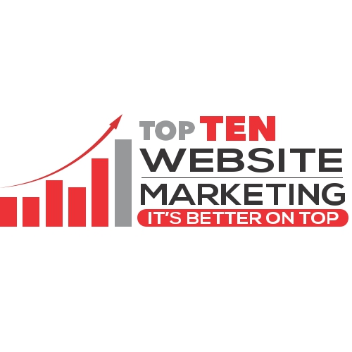 Top Ten Website Marketing Logo