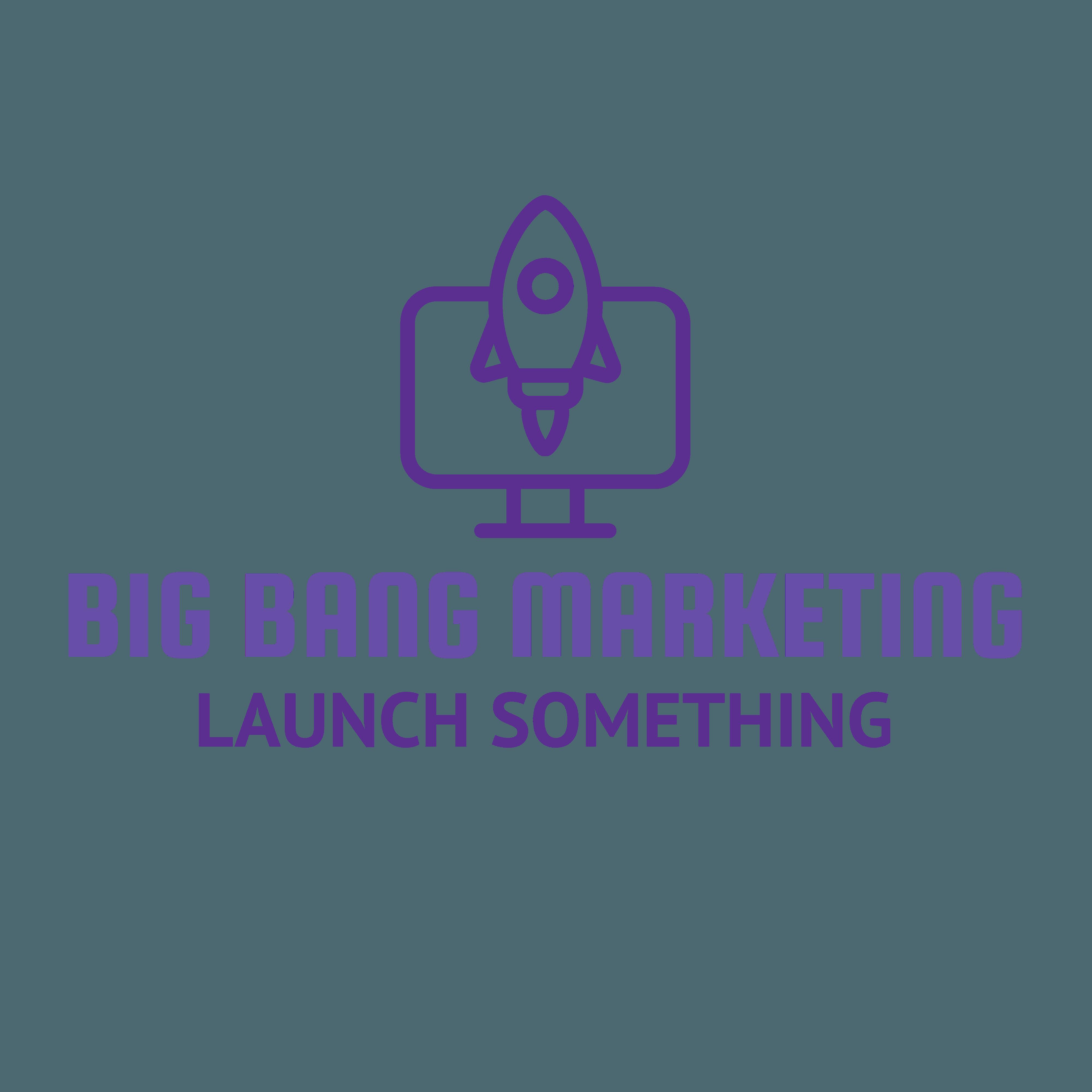 Big Bang Marketing  Logo