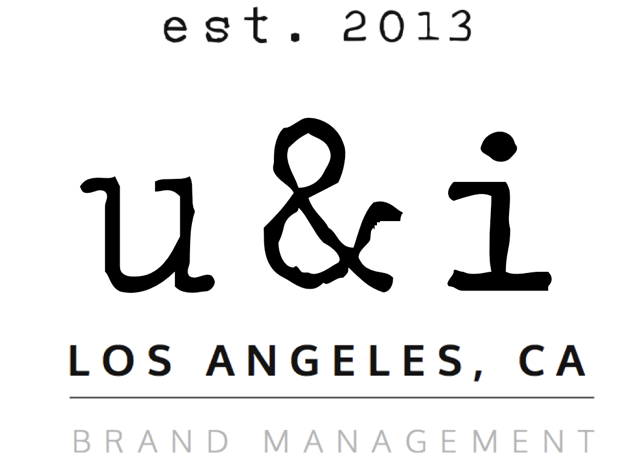 U & I brand consulting/ development Logo
