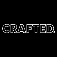 CRAFTED. Logo