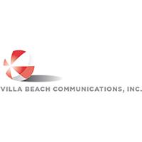 Villa Beach Communications, Inc. Logo