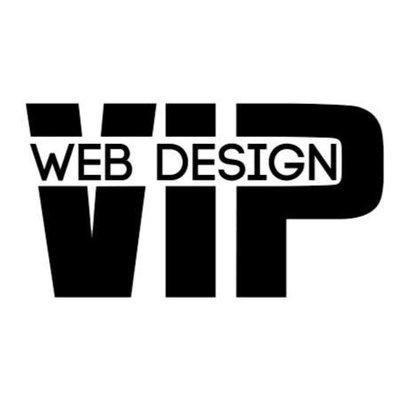 Web Design Vip Logo