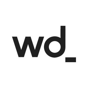 White Digital Logo