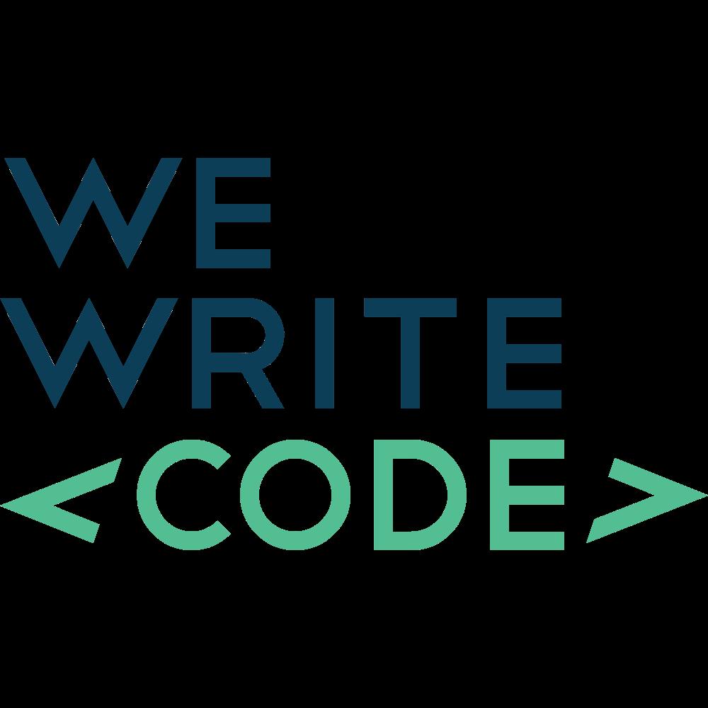We Write Code logo