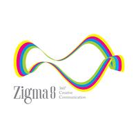 ZIGMA8 | 360 Degree Creative Communications Logo