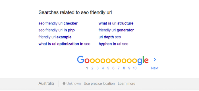 Related Search Suggestions