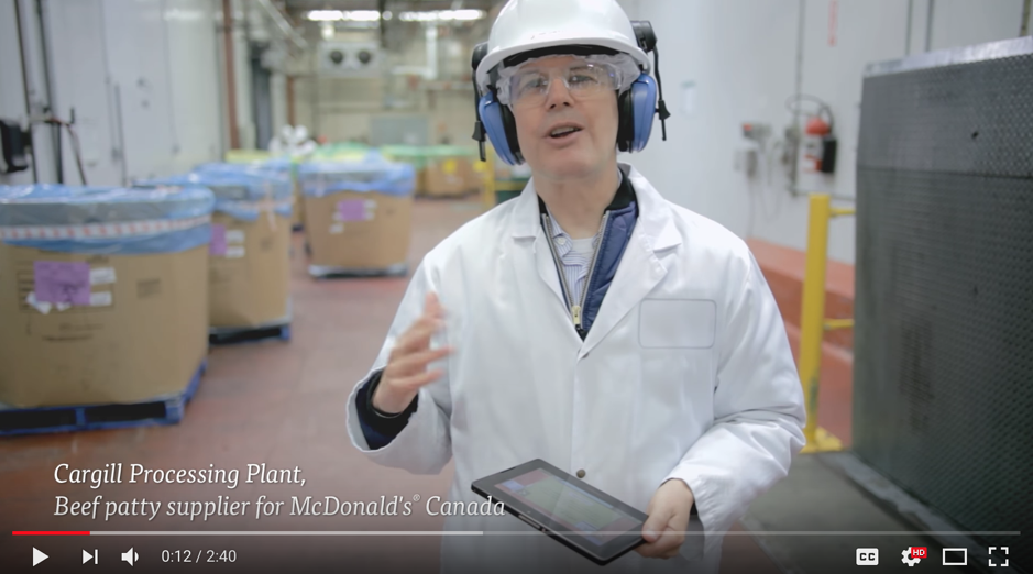 "McDonald's: ""See How Hamburger Patties Are Made"""