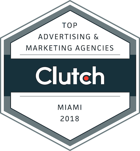 badge for top marketing and advertising companies in miami in 2018