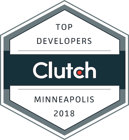 badge for top development companies in minneapolis in 2018
