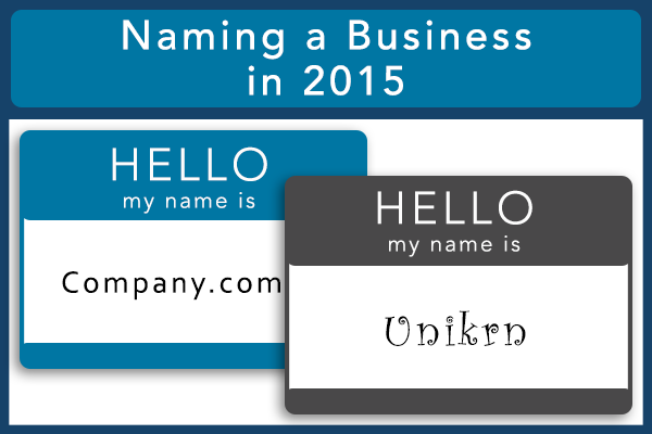 Naming a Business in 2015